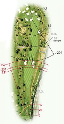 Quinta da Ria golf draw
