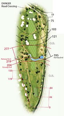 Quinta da Ria golf map