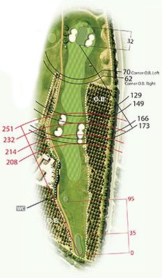 Golf map Quinta da Ria