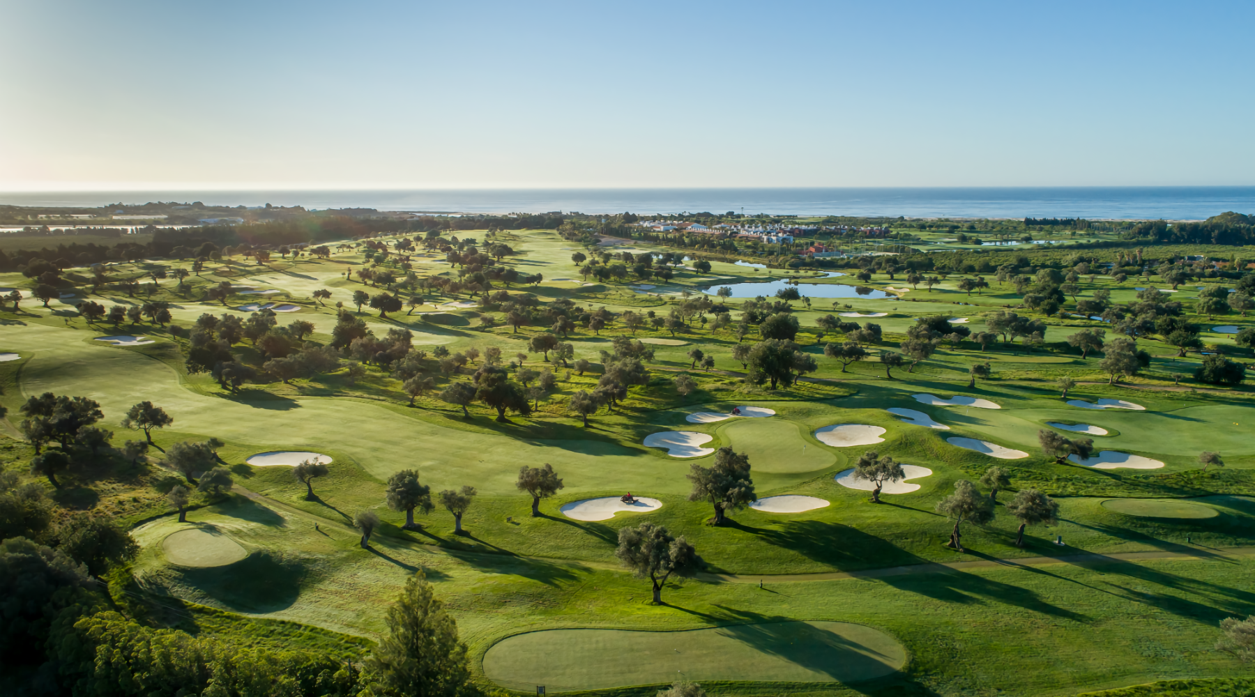 Quinta da Ria golf aereal view