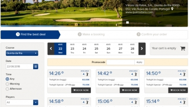 Online Bookings – It has never been this easy