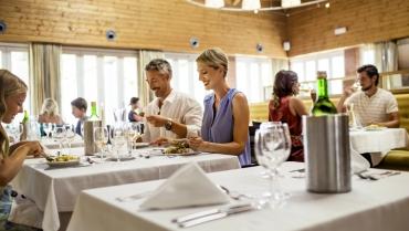 Restaurante-bar Ria Terrace – Refeições deliciosas num ambiente muito acolhedor e descontraído