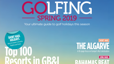 Quinta da Ria is on the Cover of Golfing Spring Magazine