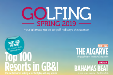 Quinta da Ria on Golfing Spring's magazine cover